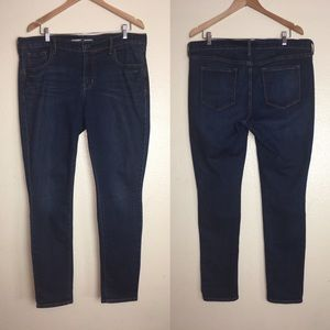Old Navy Original Mid-Rise Skinny Long Jeans